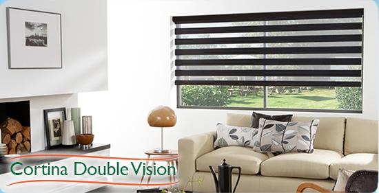 cortina double vision - instalação de Persiana