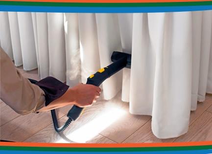 limpeza de cortinas - Venda e Manutenção de Persiana