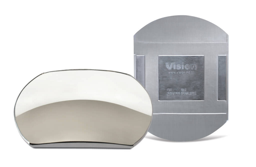 Espelho Autocolante Reatangular - Espelho Convexo Linha Automotiva