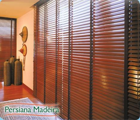 perciana madeira - instalação de Persiana