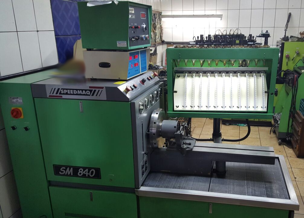 MJM Maquina - Teste Computadorizado Bico Injetor Diesel