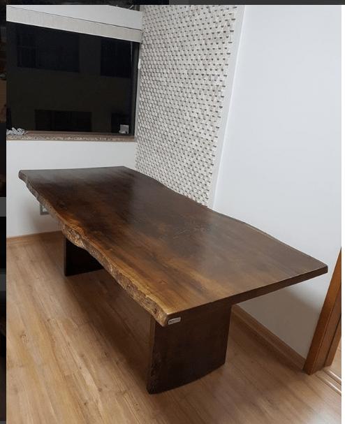 Mesa Rustica - Móveis de Madeira Maciça SP