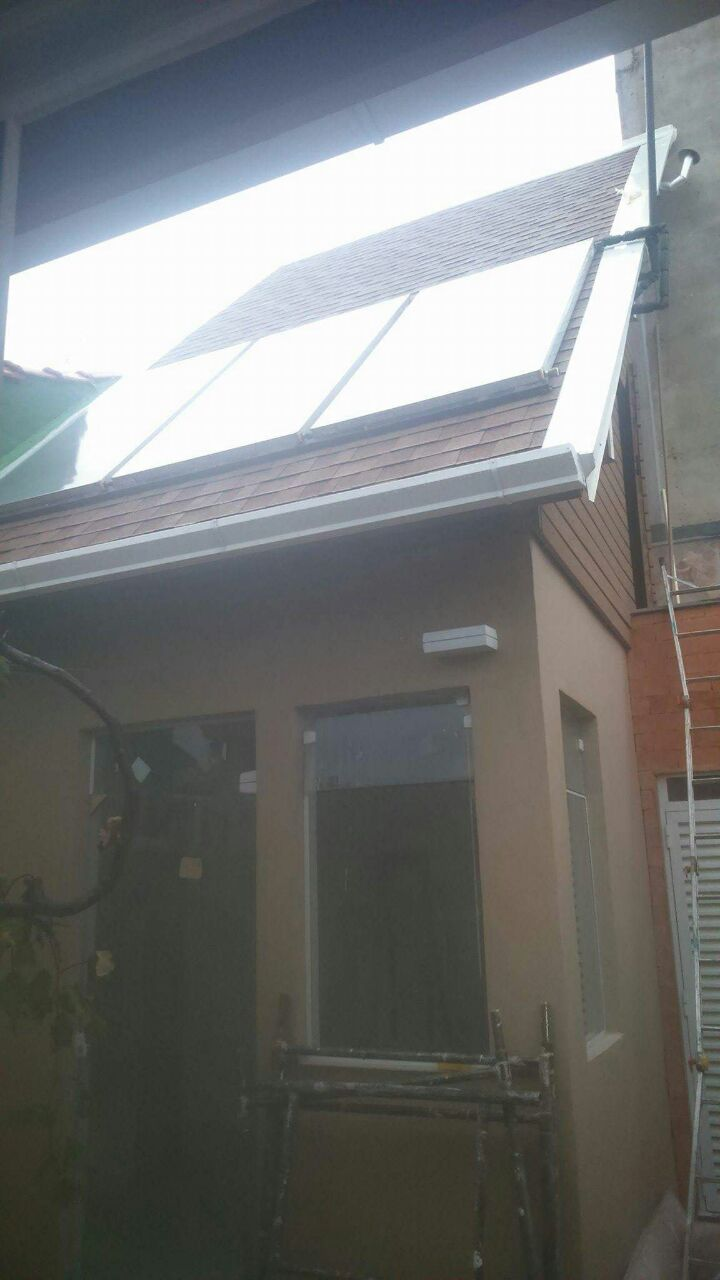 Edicula-Telha-Shingle - Telhado Sob Medida Reforma Manutenção Telha Brasilit