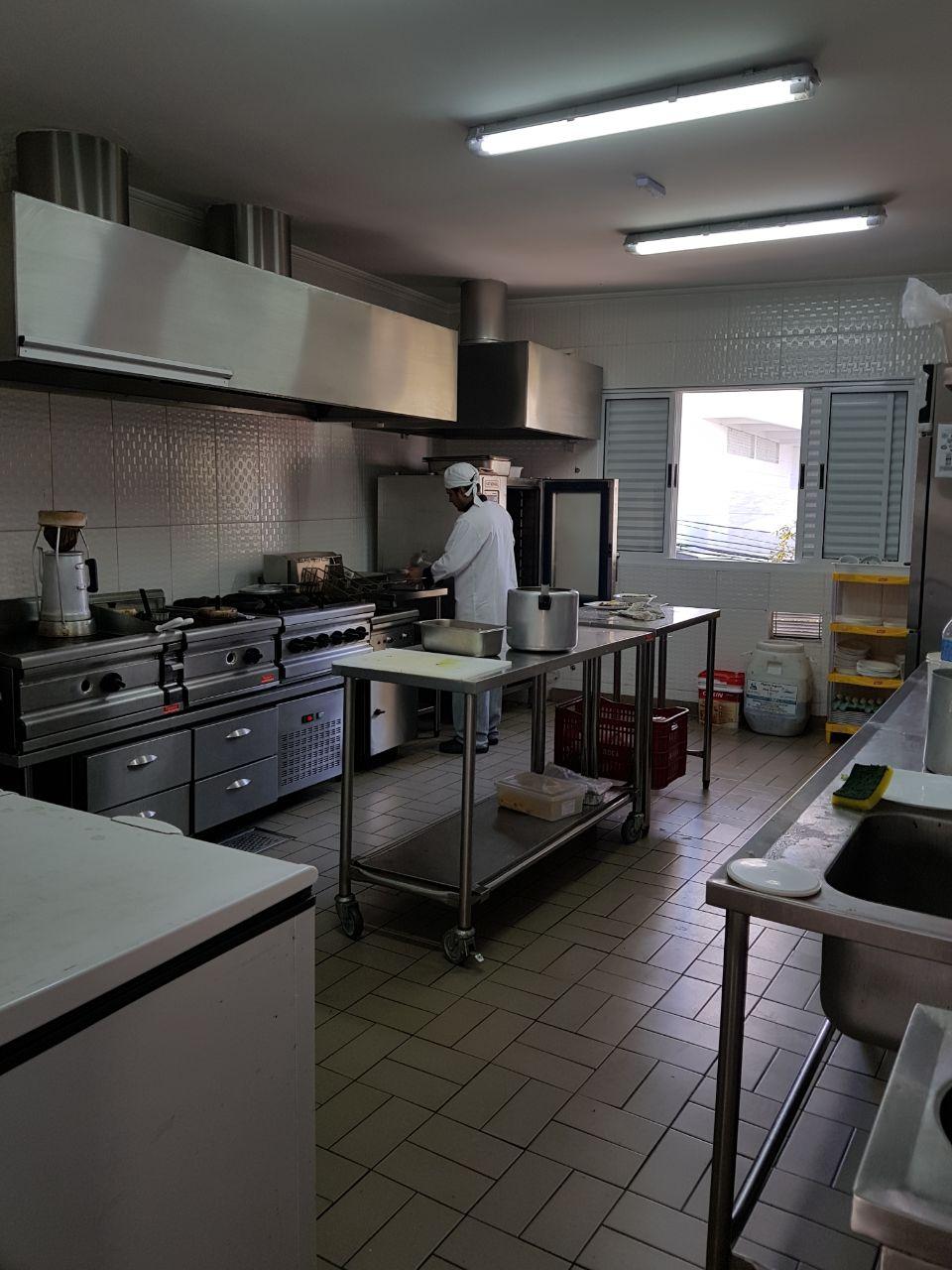 Ponto Comercial Com Instala O De Restaurante Padaria Com Cozinha