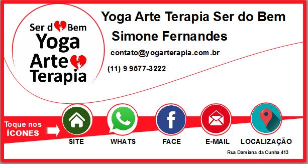 cartao virtual yoga arte terapia ser do bem